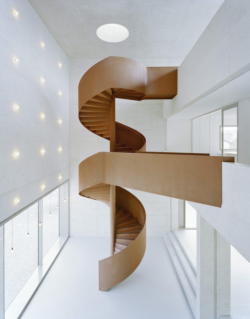 Treppen in cortenstahl optik spreng treppenbau - Fmb architekten ...